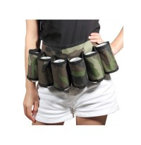 6 Pack Beer Soda Belt Drinks Beer Belt Holder Bottlr