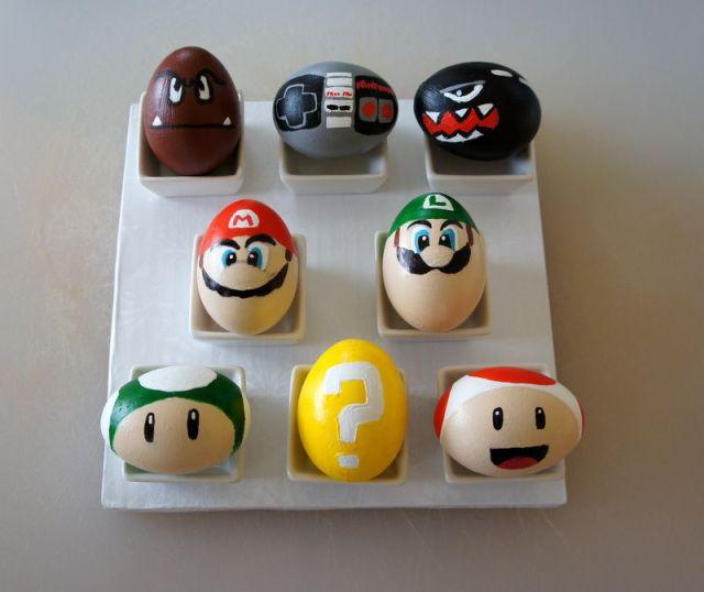 Huevos de Pascua para geeks