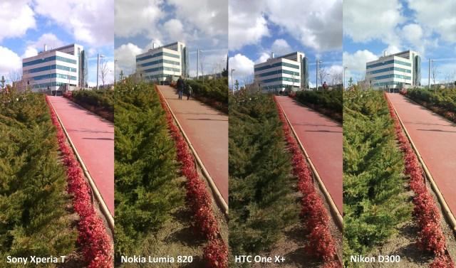 Comparativa cámara Sony Xperia T, Nokia Lumia 920 y HTC One X+