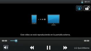 LG Optimus L9: Reproducción SmartShare