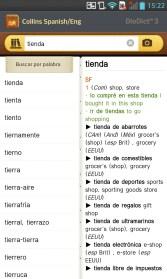 LG Optimus G - App. Diccionario