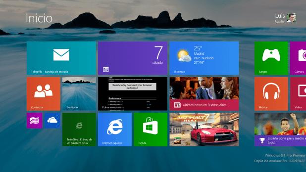 Escritorio Surface Pro