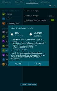 Ahorro de bateria - 2