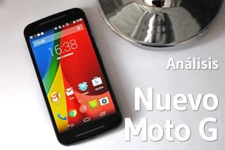 Nuevo Moto G - Analisis