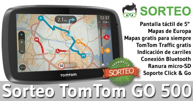 Sorteo TomTom GO 500 en TK