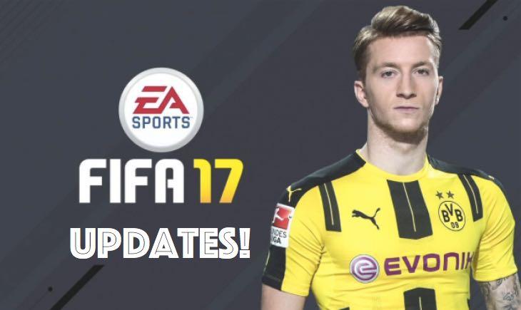 FIFA 17 si aggiorna all'1.03 anche su PS4 e Xbox One