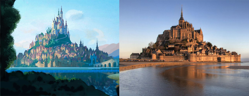 French Fall Wallpaper Real World Locations That Inspired Disney Movies Tekton