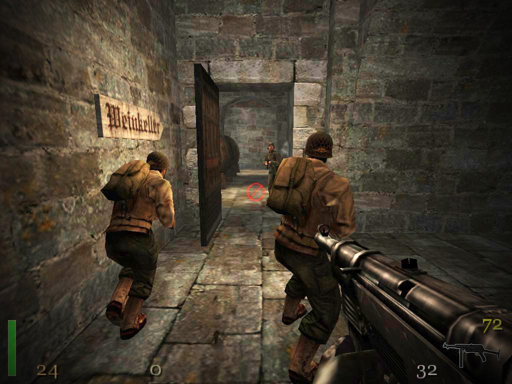 Free 3d Horror Wallpapers T 233 L 233 Charger Return To Castle Wolfenstein Gratuit