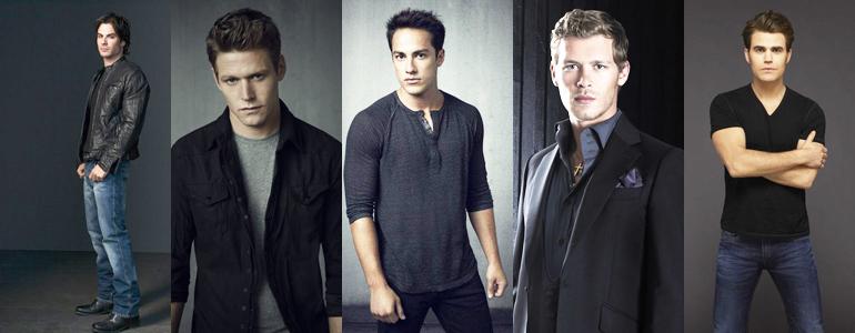 Quale personaggio maschile di The Vampire Diaries è la tua perfetta anima gemella?