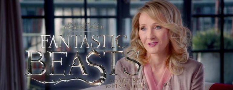 Animali fantastici e dove trovarli: previsti 5 film, parola di J.K. Rowling
