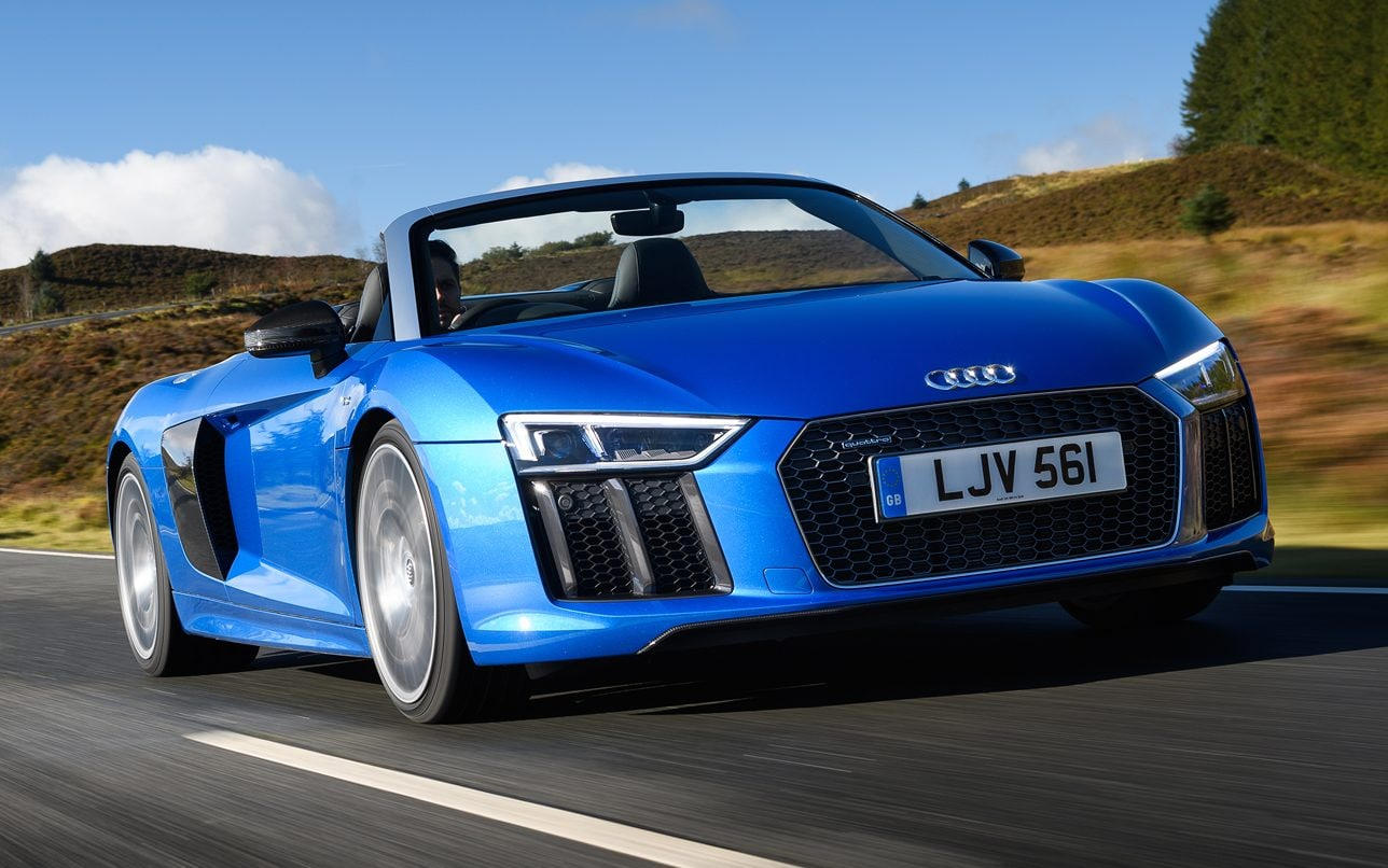 Modified Sports Car Wallpaper Audi R8 Spyder Review One Of The Most Exciting Cars The
