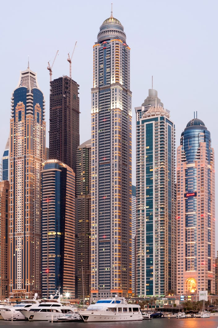 Princess tower dubai | The world's most expensive buildings - Travel