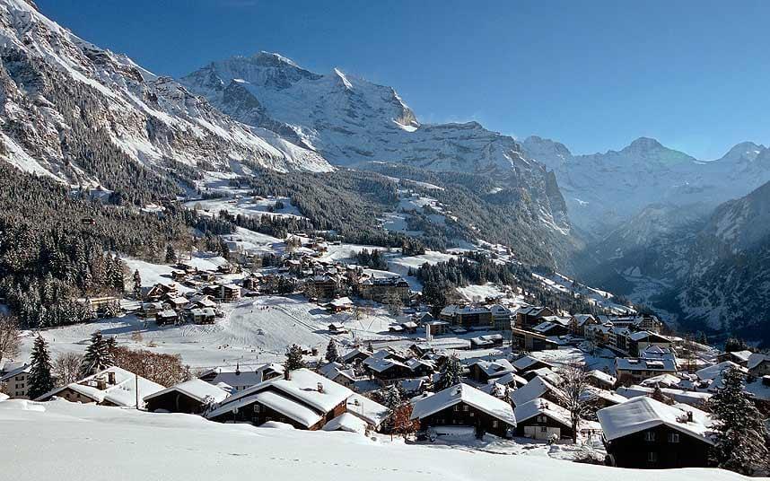 Free Snow Falling Live Wallpaper Best Swiss Ski Resorts Telegraph