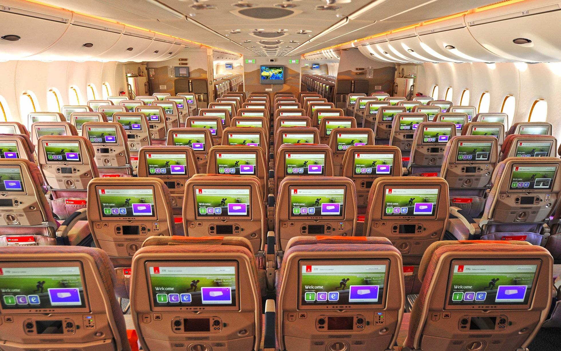 Emirates Plane Removes First Class To Fit In The Most