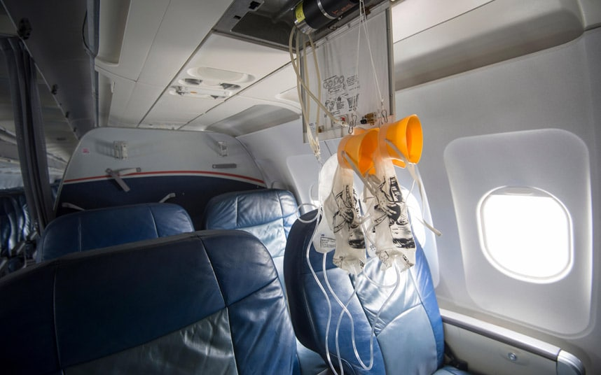 Wallpaper Falling Off Ceiling What Happens When A Plane Loses Cabin Pressure Telegraph