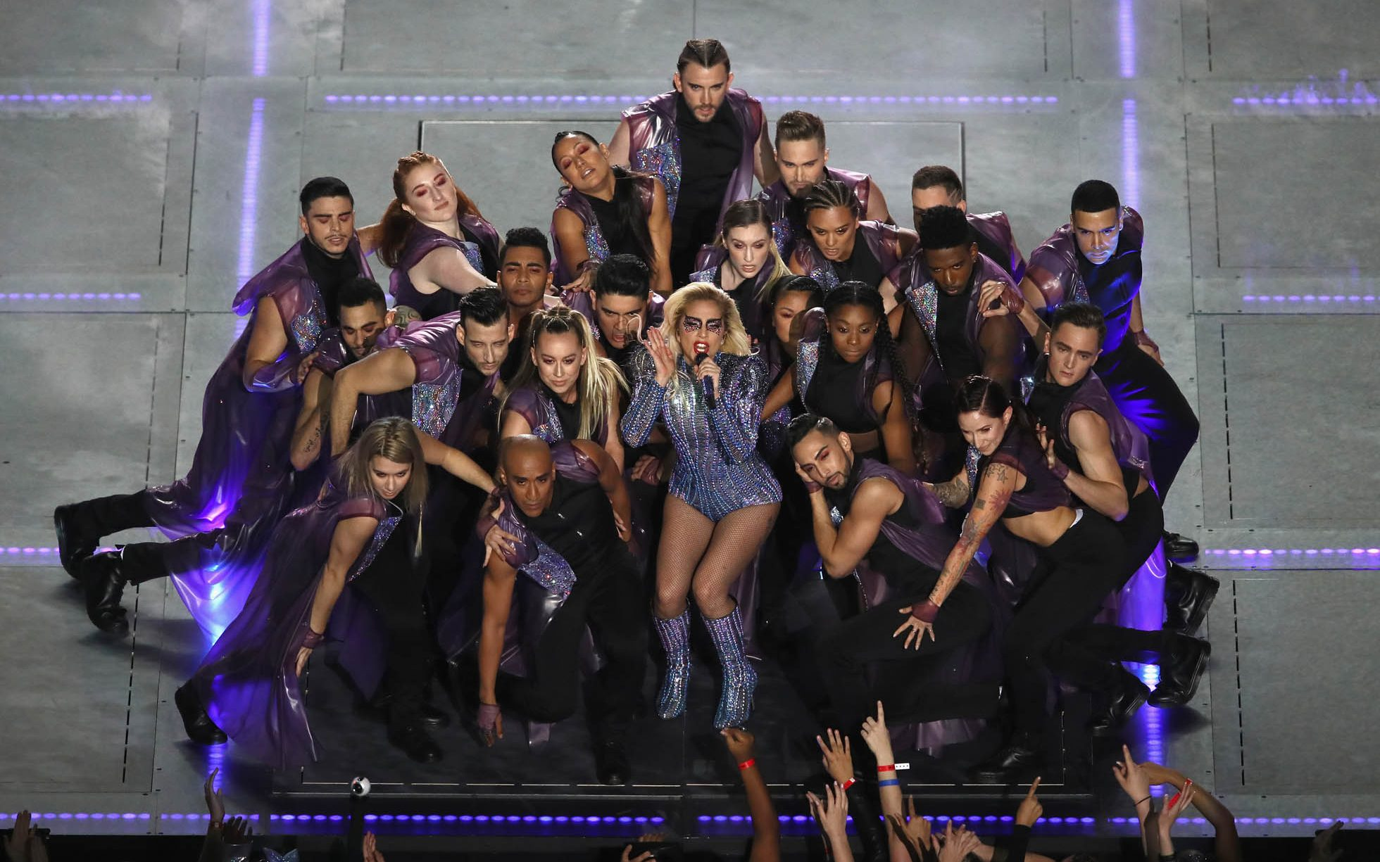 Lady Gaga Dazzles Super Bowl With Stunning Half Time Show