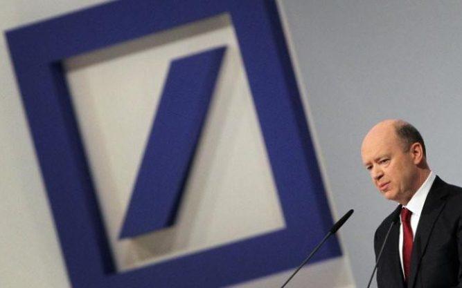 Deutsche Bank boss John Cryan