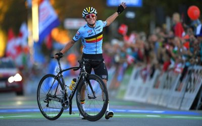 Remco Evenepoel doubles up at world championships as Belgium starts to believe it has found ...