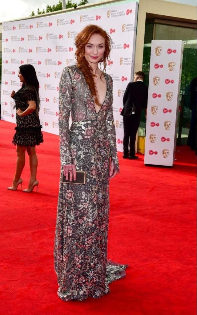 Eleanor Tomlinson BAFTA TV AWARDS