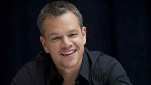 Medium Of Matt Damon New Movie
