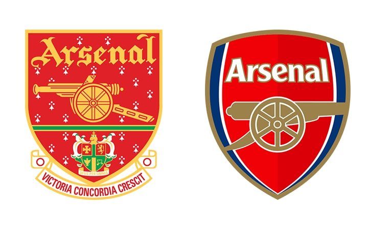 Golf Wallpaper Hd Arsenal Badge Redesign The Worst Ever Sporting Rebrands