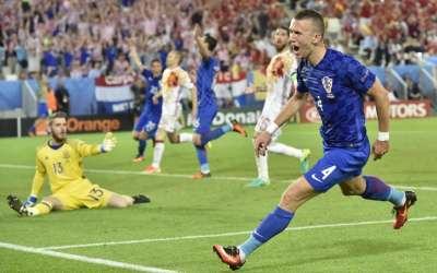 Spain vs Croatia, Euro 2016, live: Ivan Perisic completes brilliant comeback to set up Spain vs ...