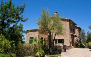 Robert Graves's house on the outskirts of the village of Deià
