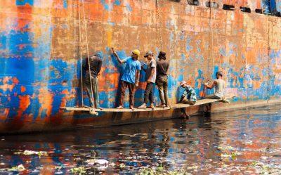 Life in Bangladesh's Keraniganj shipyard in Dhaka, in ...