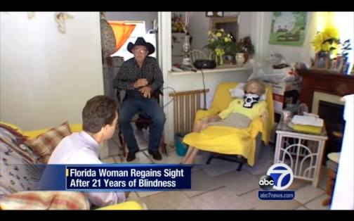 MIRACLE: Blind Woman Regain Sight After 21 Years Because of Unrelated Surgery