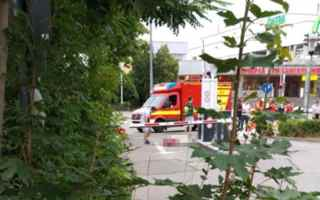 German shopping centre has been attacked