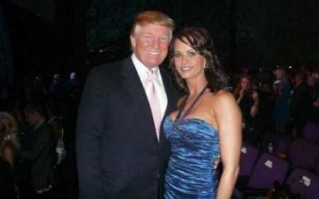 Karen McDougal with Donald Trump