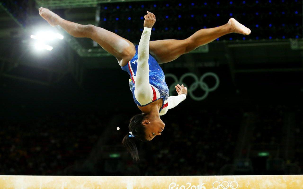 Nike Animated Wallpaper Peerless Simone Biles Flies To Olympic All Around