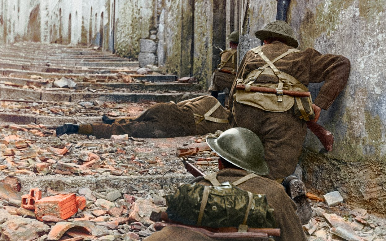 Pictures Of The Second World War That Look Like They Were