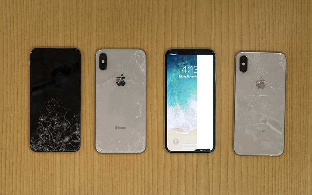 Cracked Screen Iphone 4 Wallpaper Iphone X Is Apple S Most Breakable Phone Ever