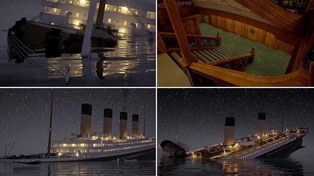 Watch Simulation Of The Titanic Sinking In Real Time