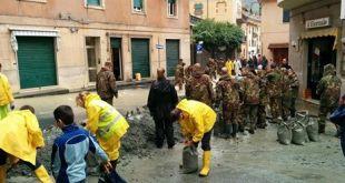Alluvione a Rossiglione, frane tra Campo Ligure e Rossiglione