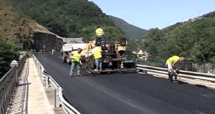 Campo Ligure e Rossiglione, senso unico alternato per asfaltatura