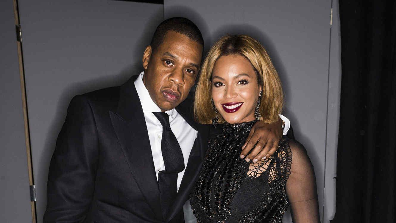 Jay Z y Beyonce en Milk Studios en Los Angeles