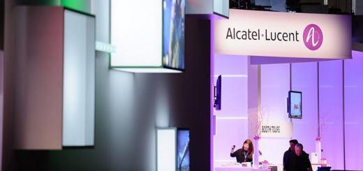 Stand de Alcatel-Lucent en el MWC. Imagen: Alcatel-Lucent