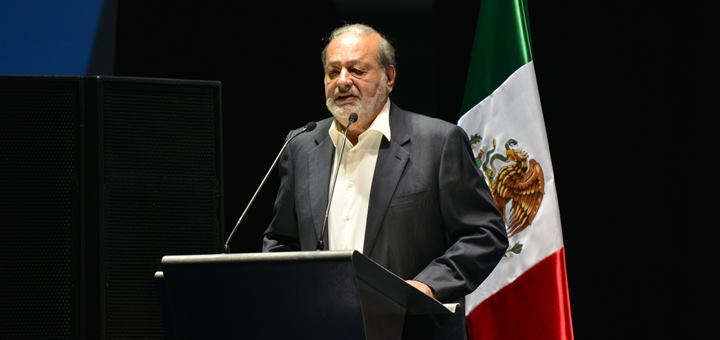 Carlos Slim. Imagen: UIT/ Flickr