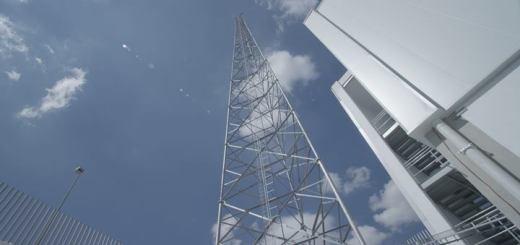 Torre de Telecomunicaciones de Alestra. Imagen: Alestra