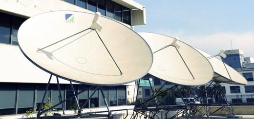 Antenas en el edificio de Cablevisión Argentina. Imagen: Cablevisión.