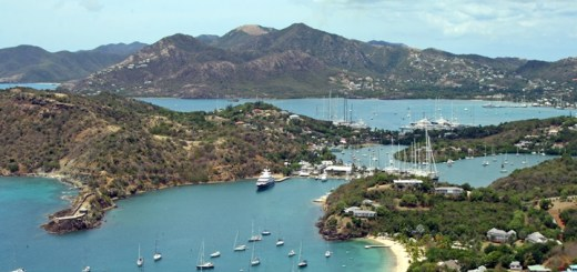 English Harbor, Antigua. Imagen: Carolyn Sugg/Flickr