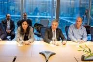 Firma de acuerdo entre la Ciudad de Buenos Aires, ministerio de Comunicaciones, Enacom y operadores móviles. Imagen: Enacom