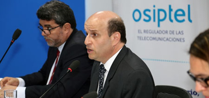 Ruiz Díaz presentó Comparatel. Imagen: Osiptel.