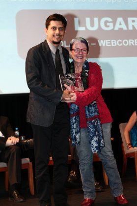 Winston Petty, presidente da Webcore e Beatriz Tibiriçá, diretora do Coletivo Digital e integrante do júri.