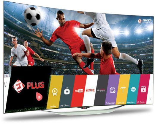 tv lg esporte interativo