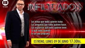 Infiltrados se estrena hoy en Canal 13
