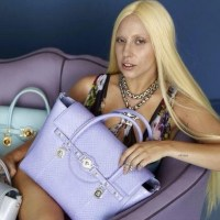 Lady Gaga is photoshopped in Versace shoot