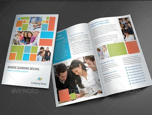 Free Education Brochure Templates Images - Template Design Free Download